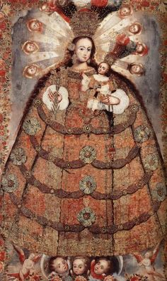 The Virgin of the Rosary of Pomata, 1700-30 |