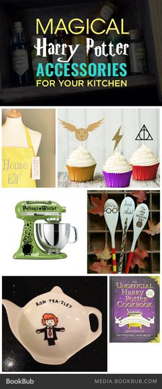 Harry Potter fans will love these 18 kitchen accessories, including a mug that actually transforms.
