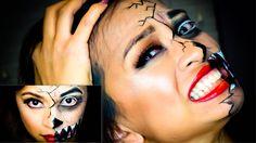 Easy Halloween Tutorial | Demon in Disguise | MakeupByCess - YouTube