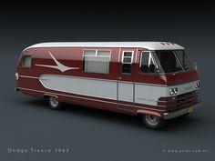 Motorhome/RV - Kills two birds with one stone; residence and transportation. Dig that retro styling.gotta do it!
