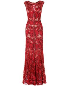 Phase Eight Paige tapework full length dress Ruby - House of Fraser Great Gatsby Prom Dresses, 1920s Inspired Dresses, Gatsby Wedding Dress, Prom Dresses For Sale, Long Dresses, Maxi Dresses, Pretty Dresses, Long Red Evening Dress, Lace Evening Gowns
