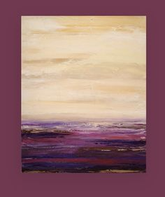 "Acrylic Abstract Fine Art Painting on Gallery Canvas Title: Sugarplum 24x30x1.5"" by Ora Birenbaum"