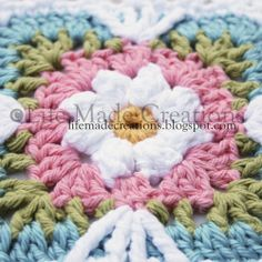 Life Made Creations: Crochet Grannies and some layouts
