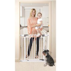 Dreambaby Liberty Security Gate w/ Stay Open Feature- White >>> Find out more details by clicking the image : Dog gates Indoor Dog Gates, Safety Gates For Stairs, Large Dog Crate, Baby Gates, 5 Babies, Dream Baby, Childproofing, Baby Safety, Liberty