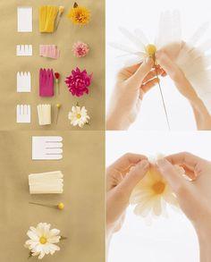 Hobilendik Kağıttan Çiçek Yapımı