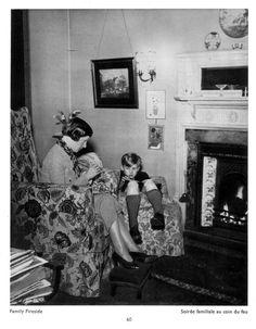 BILL BRANDT 1930'S LIVING ROOM