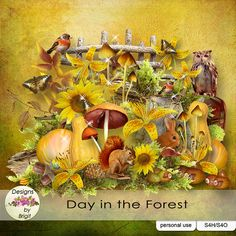 Day in the Forest kit by Designs by Brigit