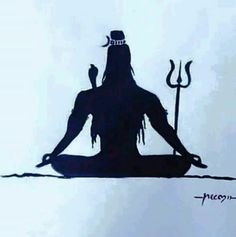 mahadev Shiva Linga, Shiva Shakti, Shiva Art, Hindu Art, Shiva Tattoo Design, Lotus Flower Art, Yoga India, Rudra Shiva, Lord Mahadev