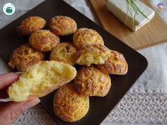 Gonfiotti allo stracchino / ricetta senza glutine e senza lievito