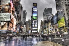 Reg Saddler - Google+ - Calm Before the storm -Times Square Moments before…