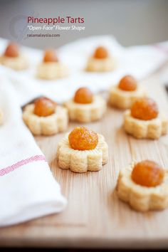 Pineapple Tarts for Chinese New Year, which falls on 1/31. #pineapple #tarts