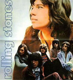 The poster to the Rolling Stones` Let it bleed. It onyl came with the vinyl record back in the 70s.