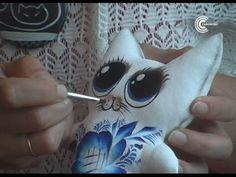 """Творческая мастерская. Игрушка в технике """"грунтованный текстиль""""."""