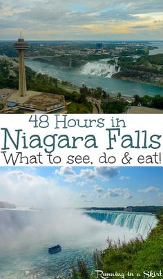 Got just 48 Hours in Niagara Falls? Here's the perfect things to see, do and eat! Don't visit without reading these suggestions! Niagara Falls Vacation, Visiting Niagara Falls, The Journey, Canada Travel, Travel Usa, Canada Trip, Niagara Falls Things To Do, Niagara Falls Toronto, Places To Travel