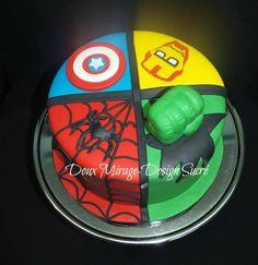 gteau super hros - Gateau Anniversaire Super Heros