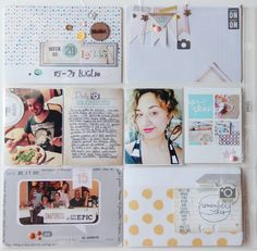 Project Life spread with Lory