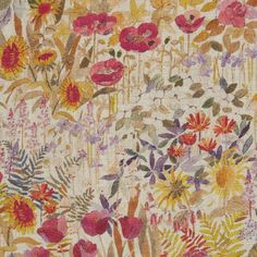 Liberty Interior Fabric Floral Clay Wood Fairy Sample - Alice Caroline - Liberty fabric, patterns, kits and more - Liberty of London fabric online