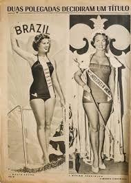 capas da revista o cruzeiro dos anos 50 - Pesquisa Google A baiana Martha Rocha perdeu o título de Miss Universo 1954 por causa de duas polegadas a mais nos quadris. Essa história já foi contada em verso e prosa milhares de vezes.