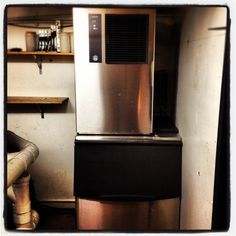 IM-240 w/ B501 storage bin installed at new #Sydney hotspot Kaya! Courtesy of Ice Machines Online!