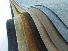 Wool Felt Sheets The River Rocks Collection by sweetemmajean Cypress Gardens, Felt Sheets, Big Box Store, Rock Collection, Colour List, Walking By, Hobby Lobby, Felt Crafts, Wool Felt