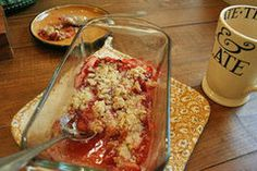 Gluten-Free (and Almost Sugar-Free) Strawberry Crumble