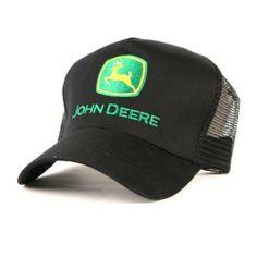 John Deere Trucker Hat Black  15.99 6ffd9deca330