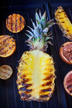 Grill some fruit at your next outdoor party.