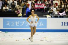 Mao Asada (JPN),.APRIL 13, 2013 - Figure Skating :.ISU World Team Trophy in Figure Skating Women's Free Skating at Yoyogi 1st Gymnasium in Tokyo, Japan. (Photo by Hitoshi Mochizuki/AFLO)