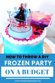My daughter absolutely loves Frozen and Frozen II so we decided to throw her a Frozen themed 2nd birthday party with my own homemade decorations! #disneyfrozen #partyideas #disney #partyideasforkids Birthday Party At Home, Disney Birthday, Frozen Birthday Party, Frozen Party, Birthday Fun, Birthday Party Themes, Frozen Themed Food, Disney Themed Food, Disney Diy Crafts