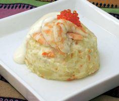 Ensaladilla de langostinos » Divina CocinaRecetas fáciles, cocina andaluza y del mundo. » Divina Cocina