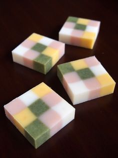 3 x 3 block soap -cold process handmade