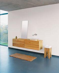 Finde moderne Badezimmer Designs: Beistelltisch BACKENZAHN. Entdecke die schönsten Bilder zur Inspiration für die Gestaltung deines Traumhauses.