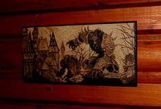 DeviantArt: More Like Dobby pyrography by BaconFactory