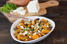 Roasted Sweet Potato Salad :: Home Cooking Adventure