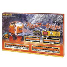 Bachmann HO Scale Royal George Train Set