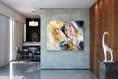 Items similar to Large Modern Wall Art Painting,Large Abstract wall art,texture art painting,colorful abstract,office wall art on Etsy Large Abstract Wall Art, Large Canvas Art, Colorful Wall Art, Canvas Wall Art, Gold Canvas, Canvas Canvas, Acrylic Canvas, Bright Paintings, Unique Paintings