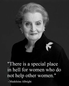 Madeleine Korbelová Albright (born May 15, 1937) was the first woman to become the United States Secretary of State. Albright currently serves as a Professor of International Relations at Georgetown University's Walsh School of Foreign Service. In May 2012, she was awarded the Presidential Medal of Freedom by US President Barack Obama.