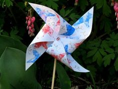 Quick And Easy Fourth Of July Crafts Patriotic Pinwheel 4th Of July Crafts For Kids To Make