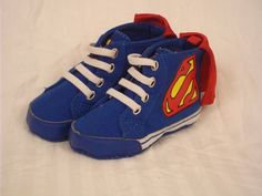 Superman Baby Shoes Size L 12 18 mos for Baby Boy | eBay