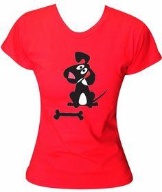 Camiseta I Love Dog