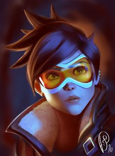 Tracer | Overwatch by ShAdiTOw40 on DeviantArt