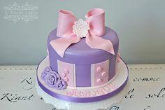 Birthday cake by K Noelle Cakes