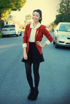 Y. A. Q. - Blog de moda, inspiración y tendencias: [Y ahora qué me pongo con] Botines con cuña y cordones