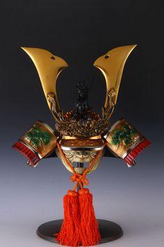 Japanese Vintage Samurai Dragon Helmet
