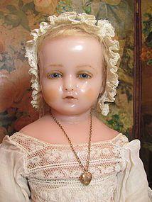 Pierrotti Baby Face_English Poured Wax doll_Circa1871