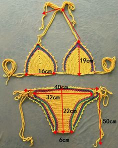 Original Handmade Sexy Knitted Bikini Crochet Hollow Women Bikini Hot Knitted Swimsuit Handmade Beach Swimwear Female Hot Sell Rome -- This is an AliExpress affiliate pin. Details on product can be viewed on AliExpress website by clicking the image Bikini Crochet Patron, Motif Bikini Crochet, Crochet Bikini Bottoms, Crochet Bra, Crochet Hook Set, Crochet Clothes, Crochet Dresses, Vintage Bikini, Dress Vintage