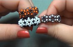 More How to Make Beaded Rings Tutorials - The Beading Gem's Journal