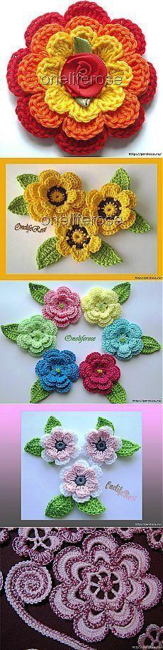 Watch The Video Splendid Crochet a Puff Flower Ideas. Phenomenal Crochet a Puff Flower Ideas. Crochet Diy, Crochet Motifs, Crochet Flower Patterns, Irish Crochet, Crochet Designs, Crochet Crafts, Crochet Stitches, Crochet Projects, Yarn Flowers