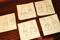 how to draw a gnome - Google Search