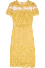 Mikael Aghal Embellished lace dress